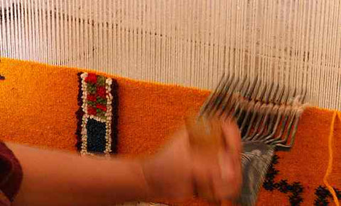 art of weaving moroccan rugs 45