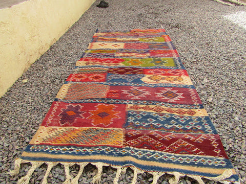 Rug-Berber Multi color Tribal Moroccan Rug
