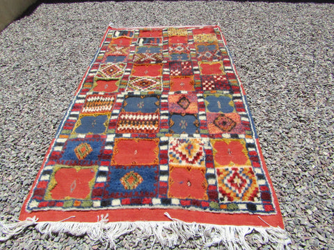 Moroccan rug, Authentic Moroccan rug, woven rug