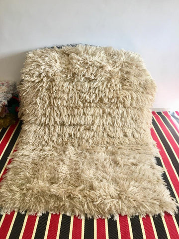 Shag rug, Woven rug, Morocco area rugs, off white color