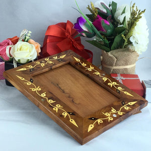Handmade and decorative Thuya wooden photo frame holder with inlaid mother of pearl, Morooco Craft thuya thuya wooden picture frame