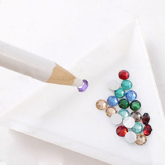 1 Piece Rhinestones Picker Pencil NAIL ART Gem Setter