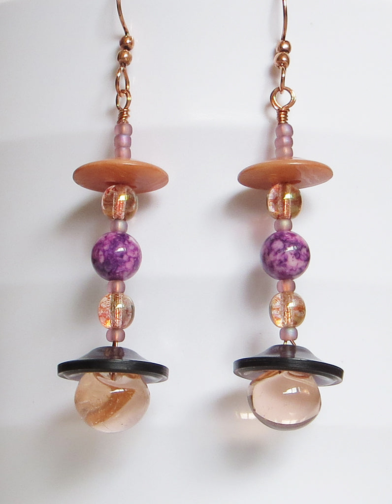 Earrings Featured on Jewelry Making Journal!