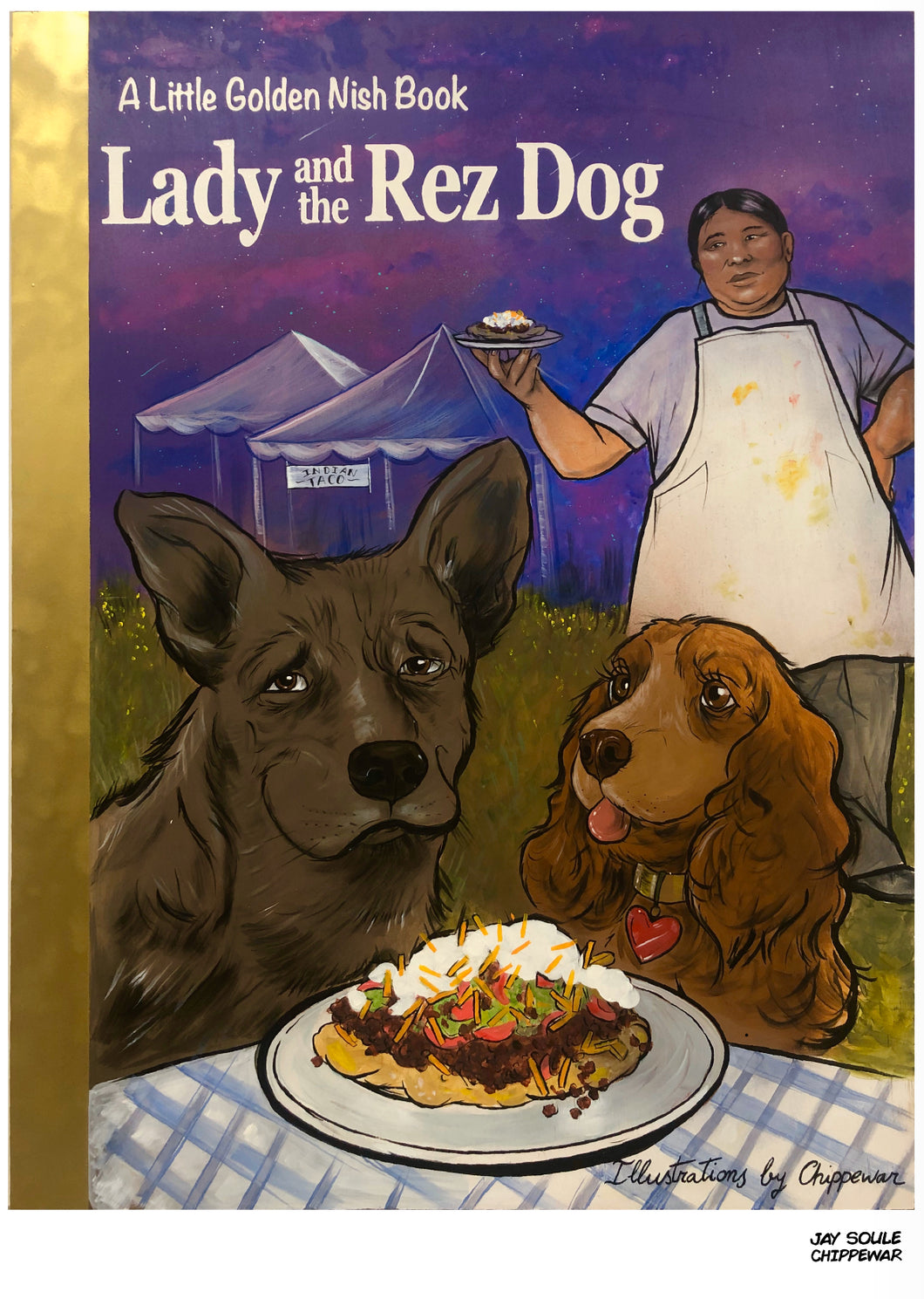 Lady And The Rez Dog