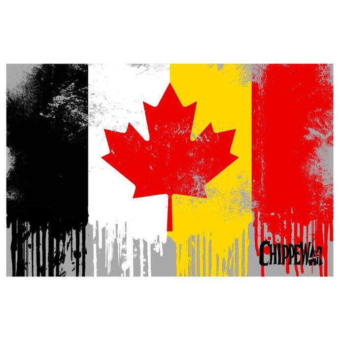 BLAME CANADA PRINT-Chippewar-First-Nations-Artist