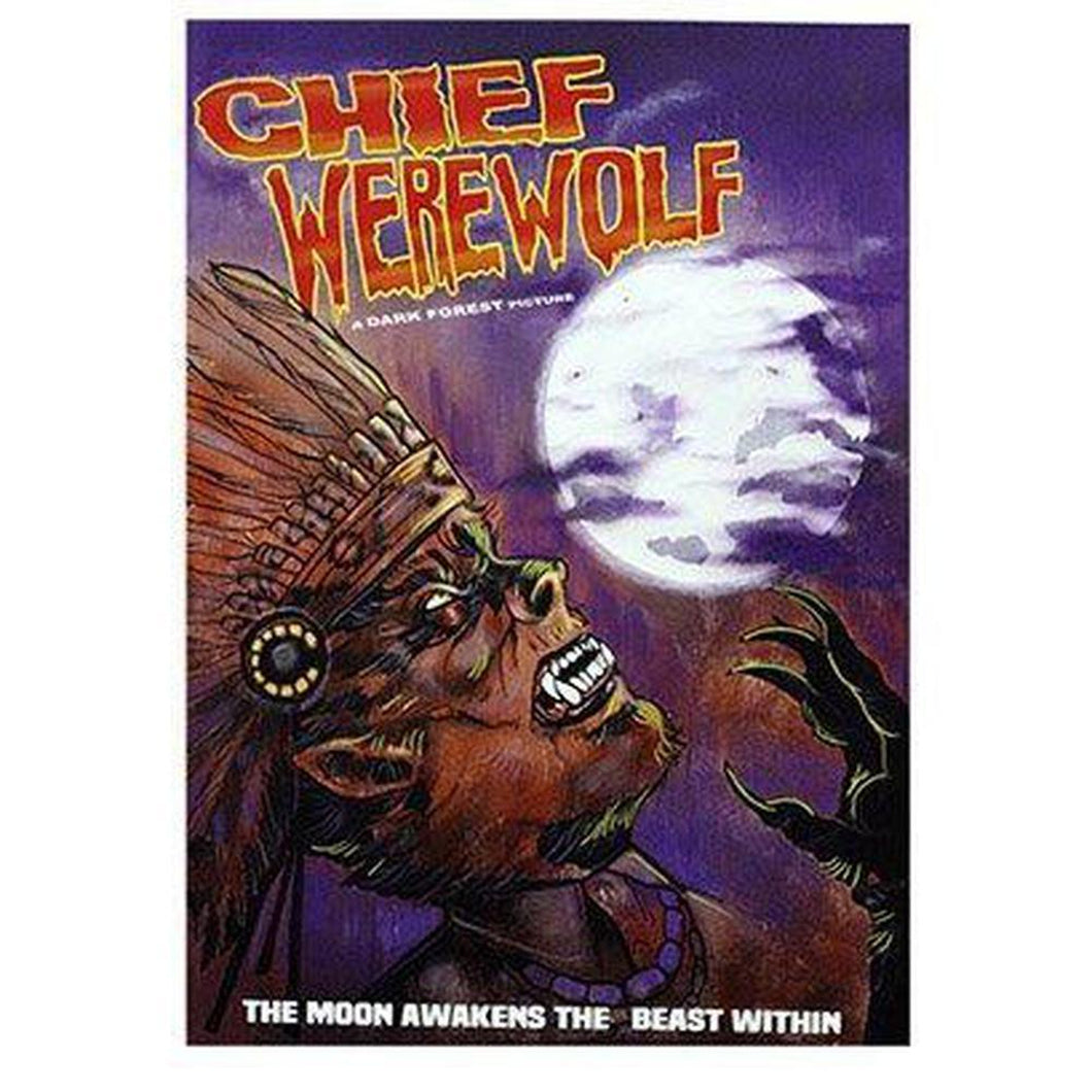Chief Werewolf Print-Chippewar-First-Nations-Artist