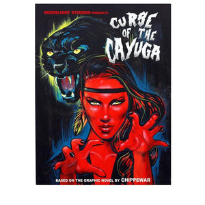 Curse Of The Cayuga Print-Chippewar-First-Nations-Artist
