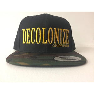 Decolonize Hat-Chippewar-First-Nations-Artist