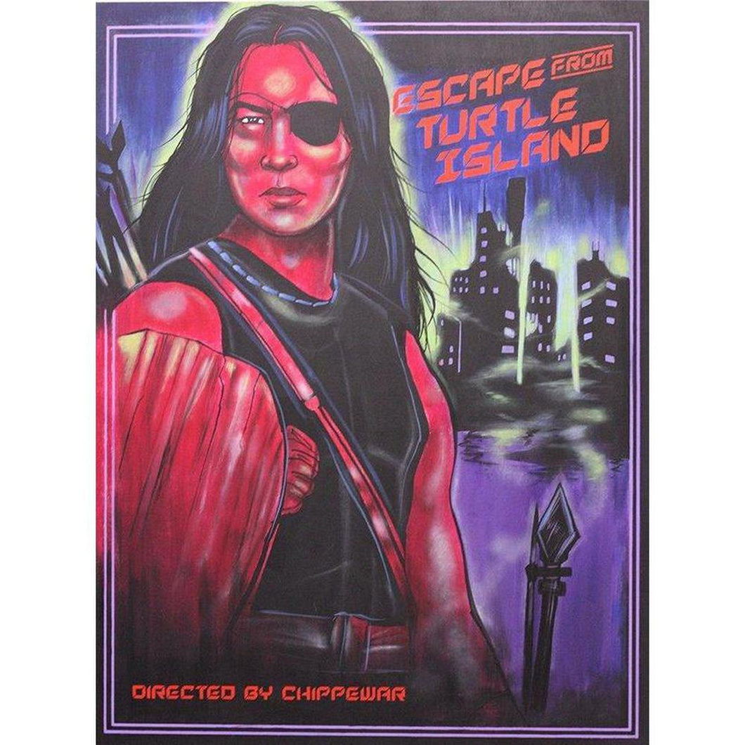 Escape from Turtle Island-Chippewar-First-Nations-Artist