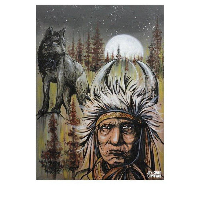 Father Moon-Chippewar-First-Nations-Artist