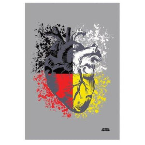 FIRST NATION'S LOVE PRINT-Chippewar-First-Nations-Artist