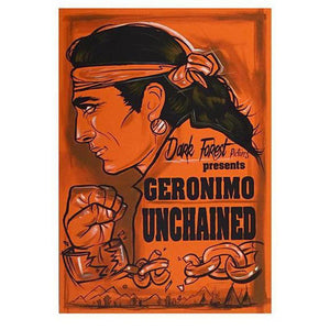Geronimo UnChained-Chippewar-First-Nations-Artist