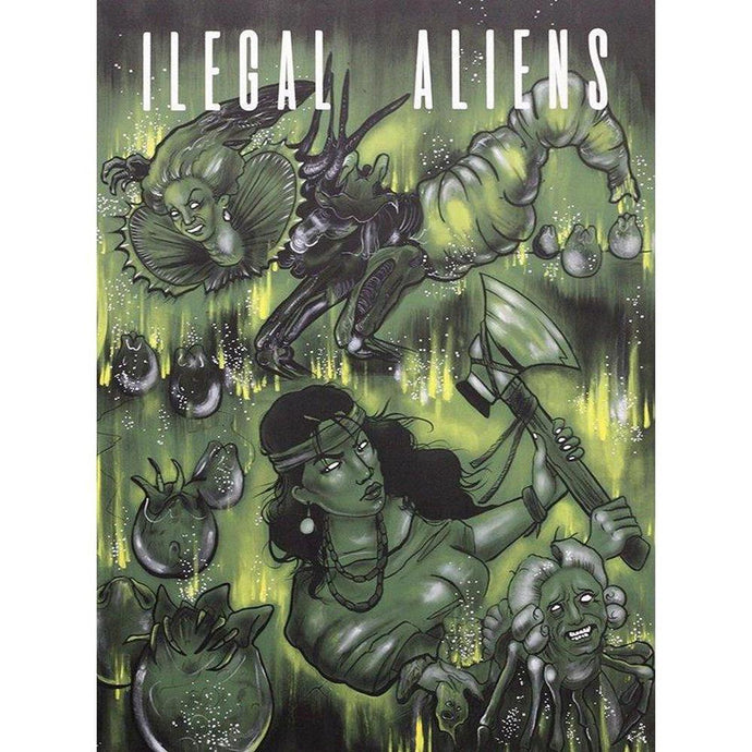 Illegal Aliens-Chippewar-First-Nations-Artist