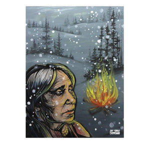Kookom-Chippewar-First-Nations-Artist