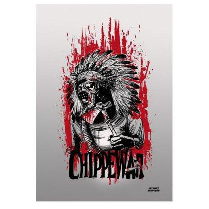 Modern Warfare Print-Chippewar-First-Nations-Artist