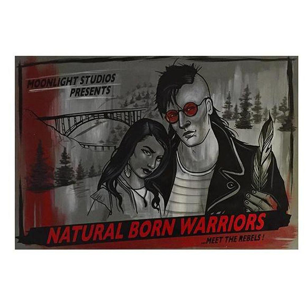 Natural Born Warriors-Chippewar-First-Nations-Artist