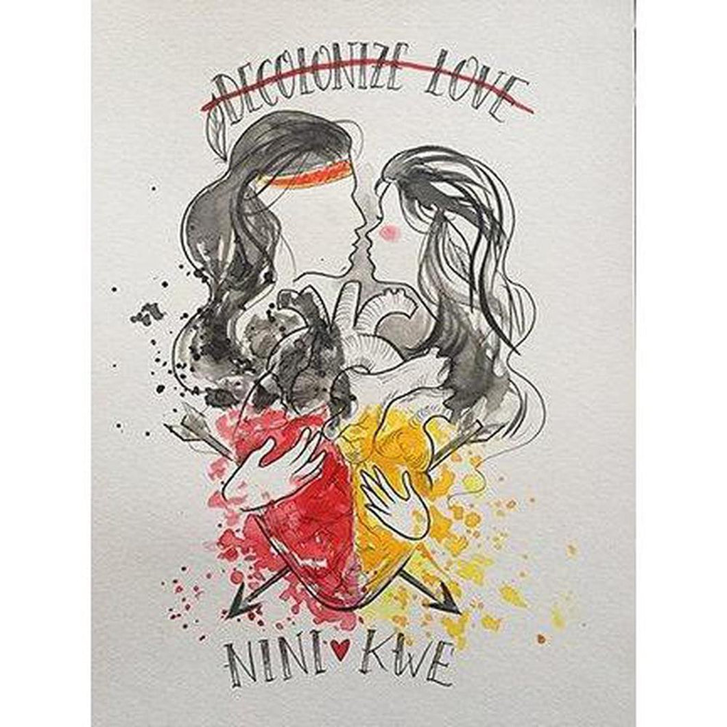 Nini + Kwe-Chippewar-First-Nations-Artist