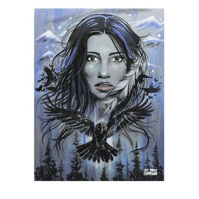 Raven Sister-Chippewar-First-Nations-Artist