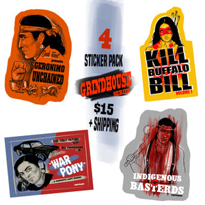 Tarantino Series Sticker Pack