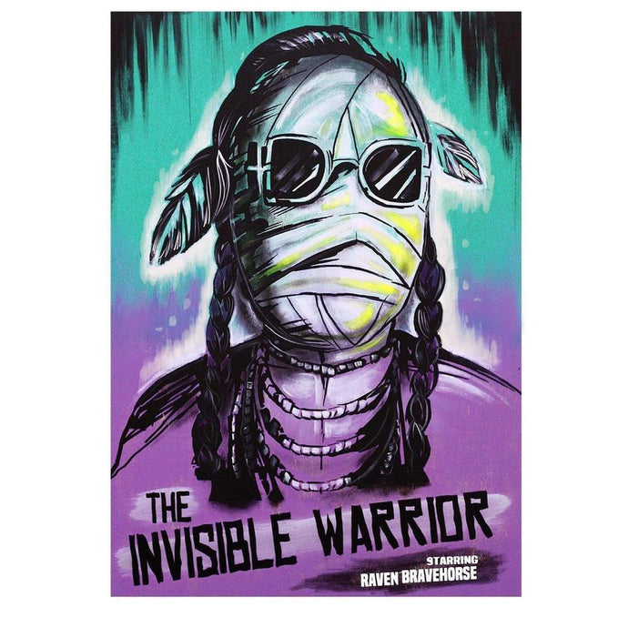 The Invisible Warrior Print-Chippewar-First-Nations-Artist