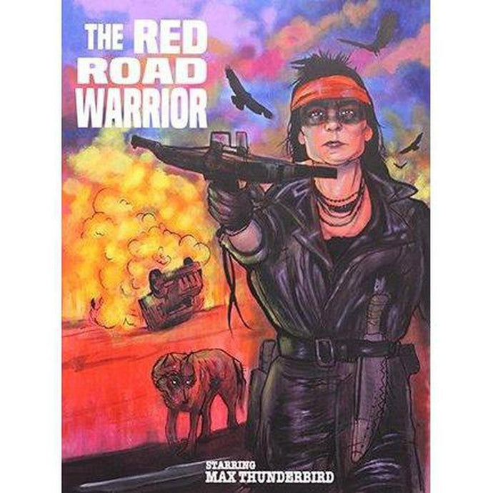 The Red Road Warrior-Chippewar-First-Nations-Artist