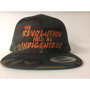 The Revolution Will Be Indigenized-Chippewar-First-Nations-Artist