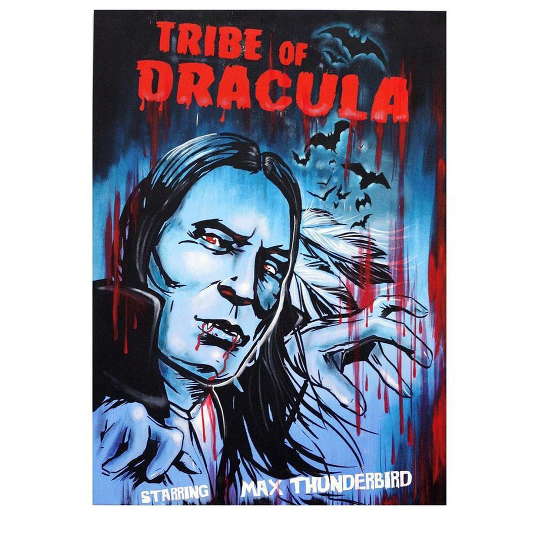 Tribe Of Dracula Print-Chippewar-First-Nations-Artist
