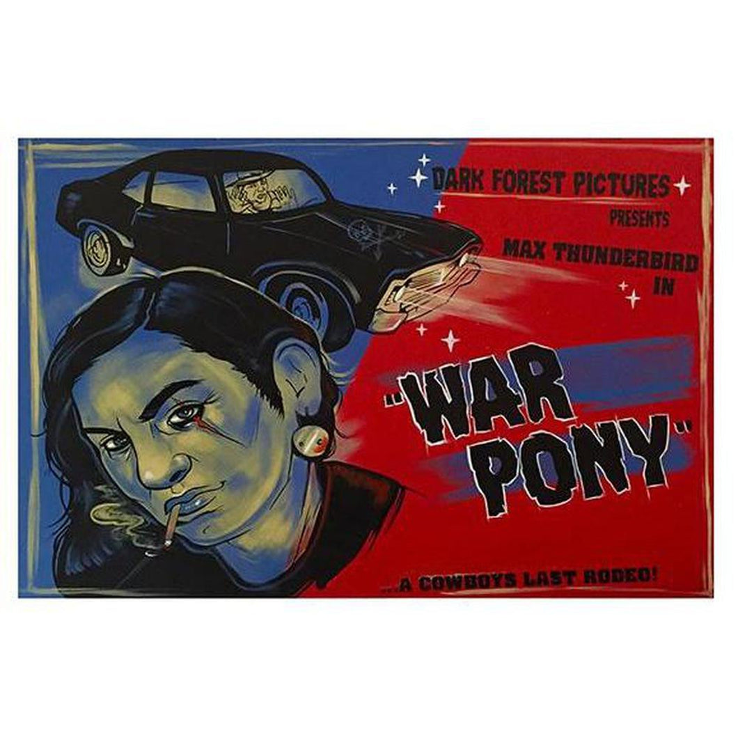 War Pony-Chippewar-First-Nations-Artist