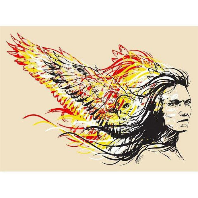 Wind Warrior-ScreenPrint-Chippewar-First-Nations-Artist