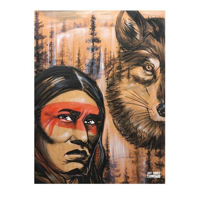 Wolf Blood-Chippewar-First-Nations-Artist