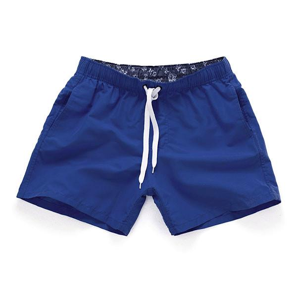 ROYAL BLUE - Frank Anthony Swimwear Mens Shorts Hydrophobic Nanotechnology Fast Drying Swimwear
