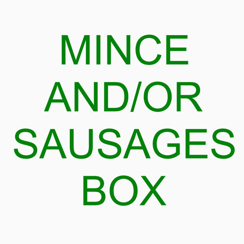 Mount Moriac Beef Mince and Sausages Box