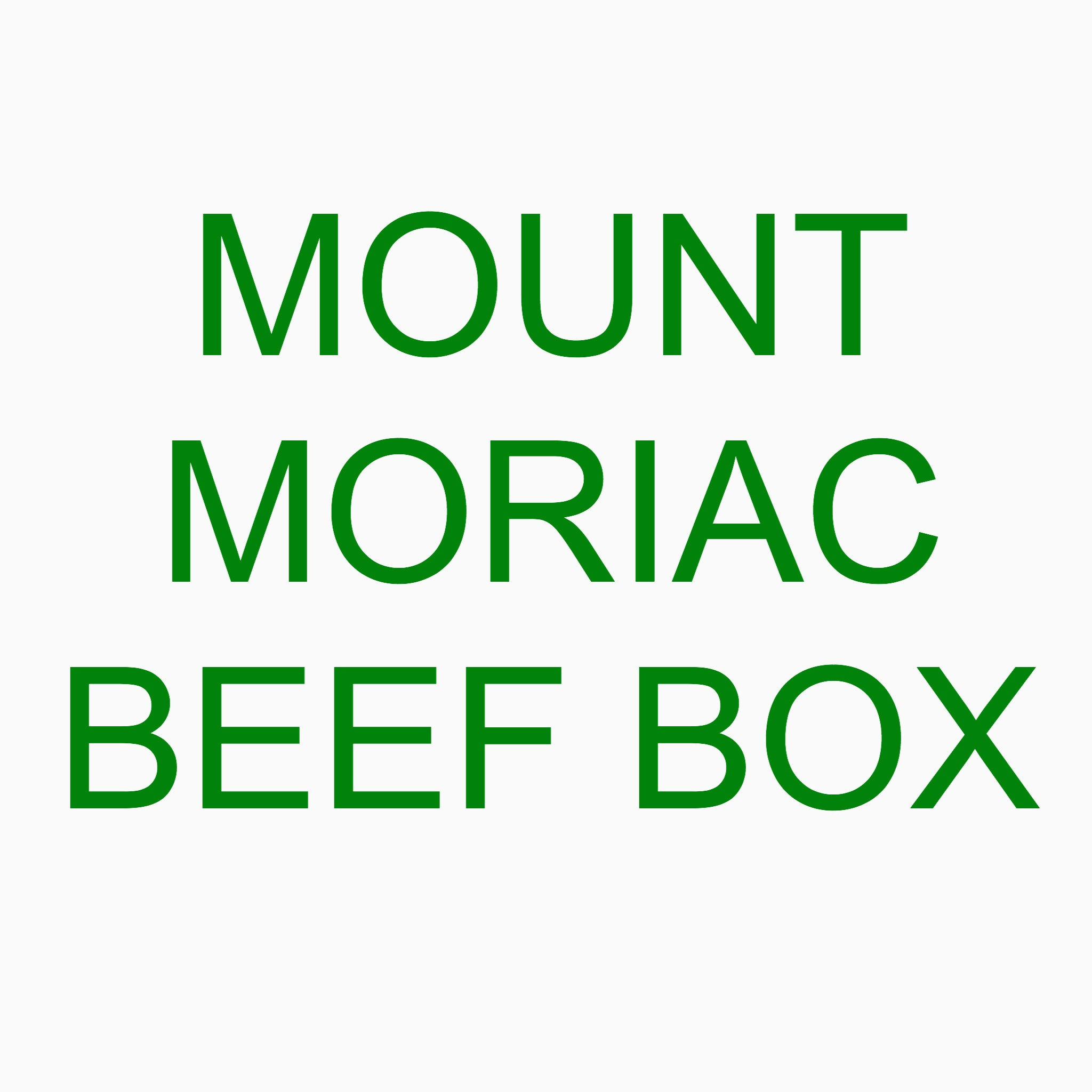 Mount Moriac Beef Box