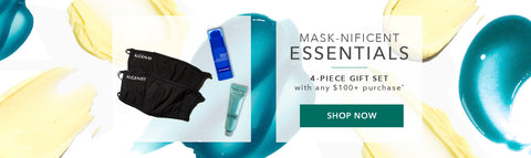 Mask-nificent Essentials 4-piece gift with any $100+ purchase. Shop Now