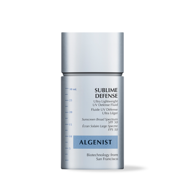 Algenist SUBLIME DEFENSE Ultra Lightweight UV Defense Fluid SPF 50, 1 oz. | 30 mL