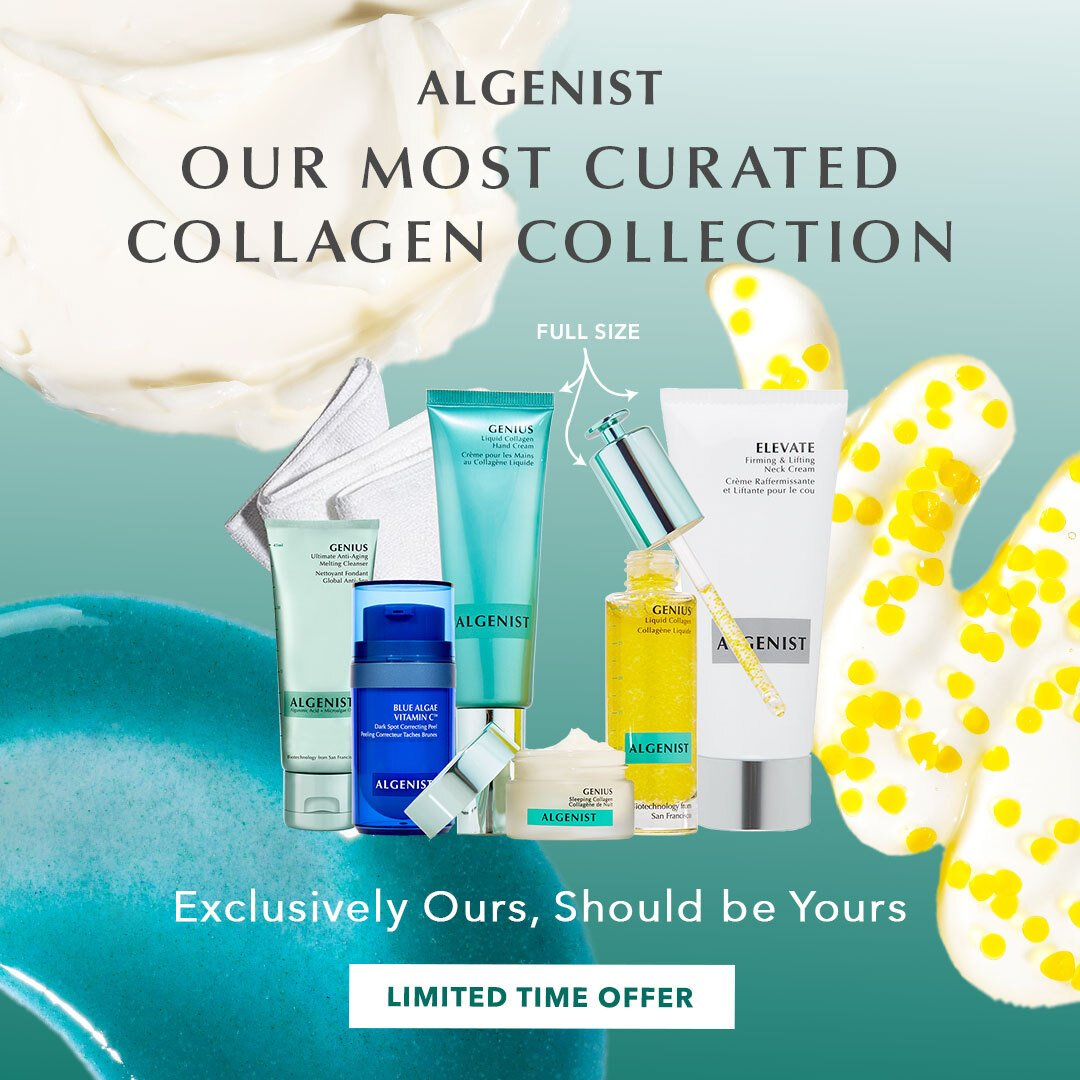 algenist - 10 day results complete facial kit anti-aging
