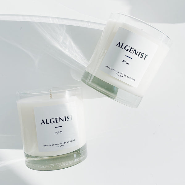 Algenist x LAIT Blue C Candle
