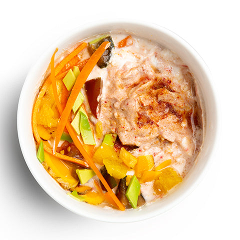 Irish Moss (Immunity)_hummus bowl