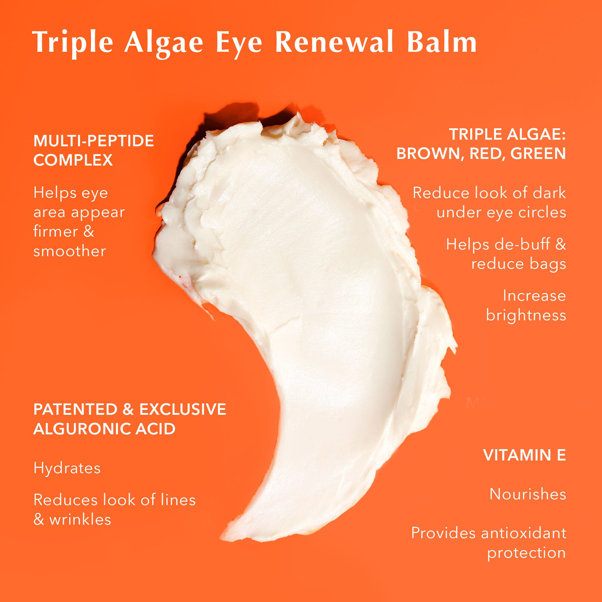 Triple Algae Eye Renewal Balm Goop
