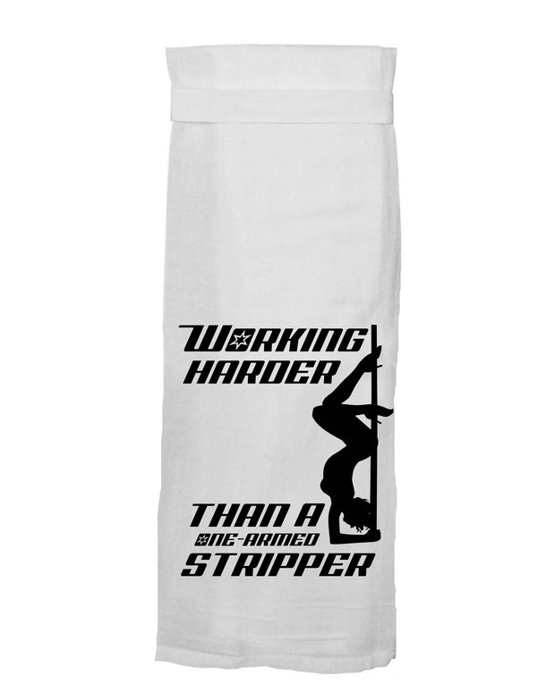 Twisted Wares - One-armed Stripper Kitchen Towel