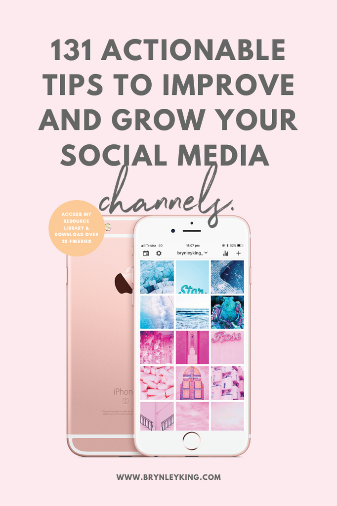 131 Actionable Tips to Improve and Grow your Social Media Channels