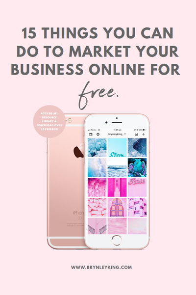 15 Things You Can Do To Market Your Business Online For Free