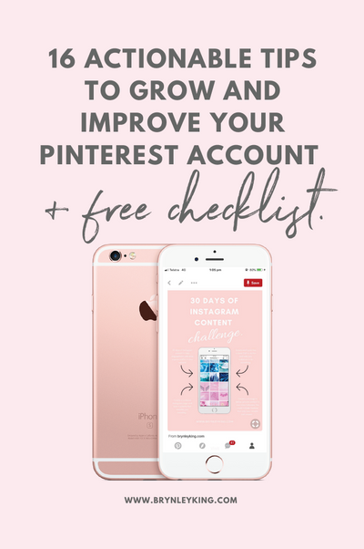 16 Actionable Tips to Grow and Improve your Pinterest Account