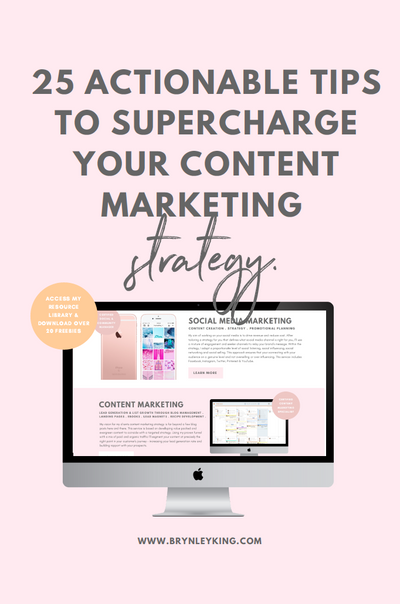 25 Actionable Tips to Supercharge Your Content Marketing Strategy