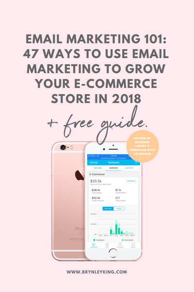 Email Marketing 101: 47 Ways to Use Email Marketing to Grow your eCommerce Store in 2018