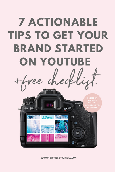 7 Actionable Tips to Get Your Brand Started on YouTube