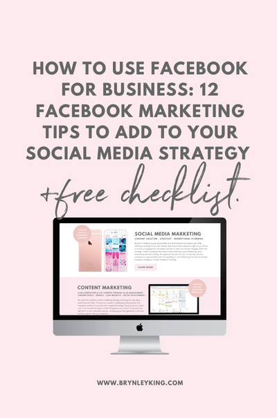 How to Use Facebook for Business: 12 Facebook Marketing Tips to add to your Social Media Strategy