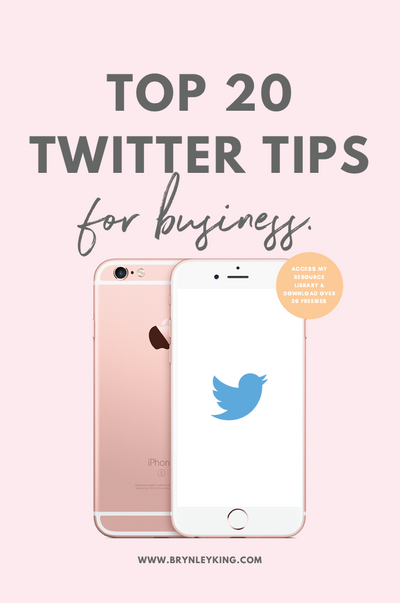 Top 20 Twitter Tips for Business