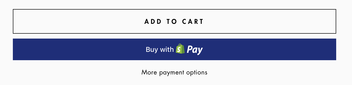 Shopify tips - dynamic checkout button example