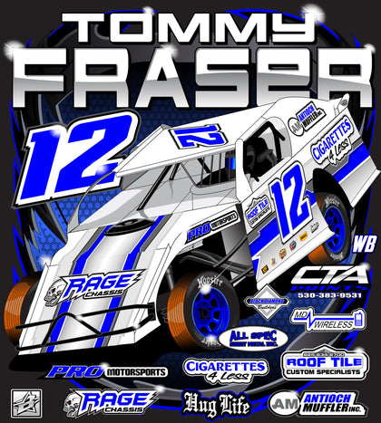 custom modified racing tshirts
